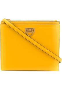 Salvatore Ferragamo Bolsa Tiracolo Trifolio - Amarelo