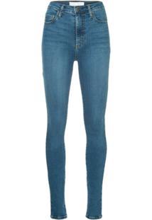 Nobody Denim Calça Jeans Siren Skinny - Azul