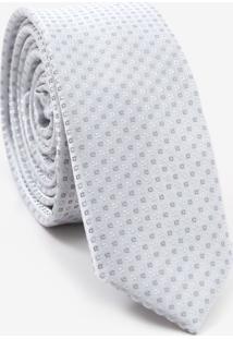 Gravata Slim Quadriculada