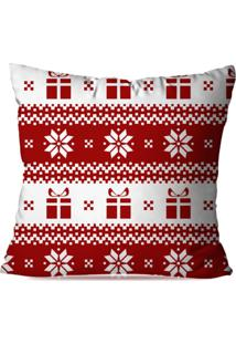 Capa De Almofada Love Decor Avulsa Decorativa Moderm Natal