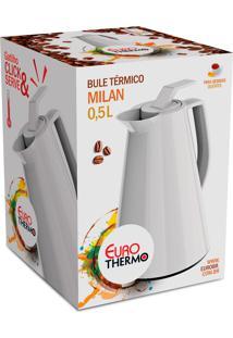 Bule Térmico Milan 0,5 Litro Branco Euro Home