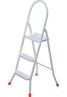Escada De Aço 3 Degraus Maxiutil