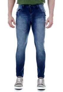 Calça Jeans Skinny Masculina Max Denim