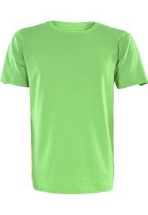 Camiseta Gajang Sem Costura Gola Careca Verde