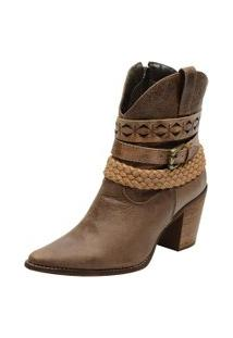 Bota Country Escrete Ankle Boot Madeira
