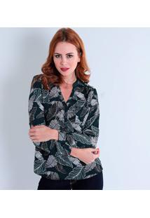 Ir para a loja  -45% Camisa Feminina Facinelli Folhagem bac057803ea9e