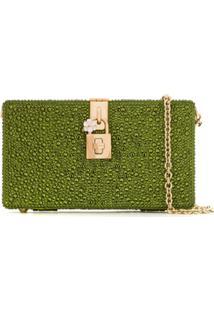 Dolce & Gabbana Bolsa Clutch 'Dolce Box' - Green