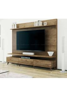 Estante Home Theater 2 Gavetas Para Tv Até 60 Polegadas Boss 180 X 218 X 40 Madeira Touch - Imcal