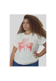 Camiseta Quimera Boteco Off White