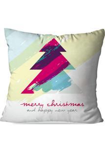 Capa De Almofada Love Decor Avulsa Decorativa Abstract Merry Christmas