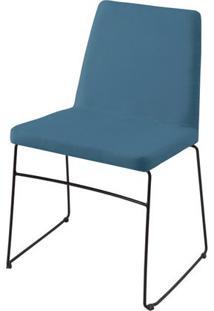 Cadeira Avec Azul Base Preta - 55901 - Sun House