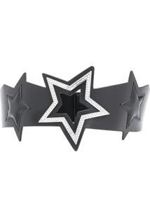 Liu Jo Cinto Com Estrelas - Preto