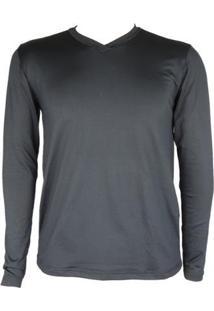Camisa Térmica Masculina Segunda Pele V Thermo Premium - Masculino