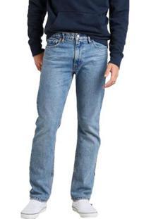 Calça Jeans Levis 513 Slim Straight Média Masculina - Masculino