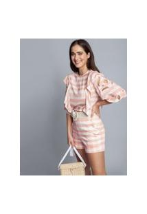 Lez A Lez - Blusa Tecido Rayon Bali Vichy