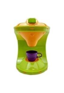 Color Chefs Kit Cafeteira Som Luz App Verde Usual Plastic