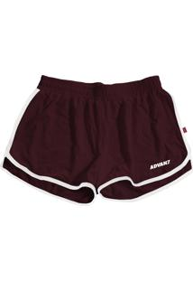 Short Advanced Co Summer Bordo