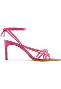Sandália Strings Lace-Up 944 Pink | Schutz