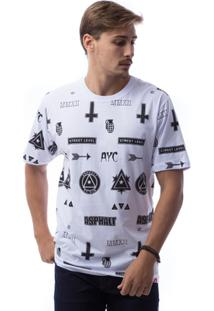 Camiseta Asphalt Ayc Devices Masculina - Masculino