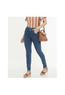 Calça Feminina Skinny Bolsos Zune Jeans