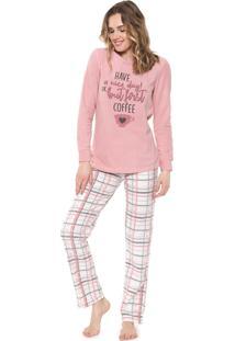 Pijama Malwee Liberta Have A Nice Day Rosa
