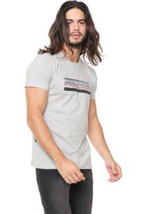 Camiseta Billabong United Cinza