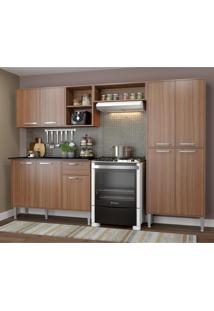 Cozinha Completa Compacta Xangai Plus Multimóveis Nogueira