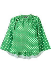 Calvin Klein 205W39Nyc Blusa Com Padronagem De Poás - Verde