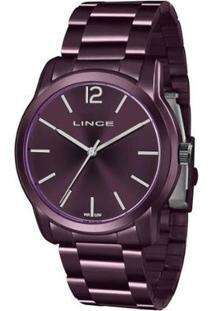 Relógio Lince Lrv4449L U2Ux Feminino - Feminino-Roxo