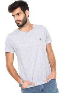 Camiseta Polo Wear Vintage Corte Laser Cinza