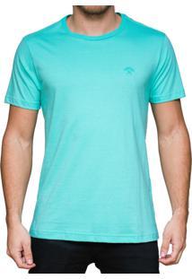 Camiseta Kevingston Login Verde Esmeralda De Algodao 100% Manga Curta