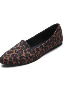 Sapatilha Dafiti Shoes Onça Caramelo