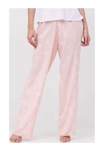 Calça De Pijama Floral