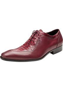 Sapato Social Capotacco Rossi Vermelho