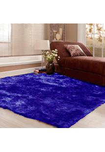 Tapete Ghali Casa Dona 150X200 Azul - Incolor - Dafiti