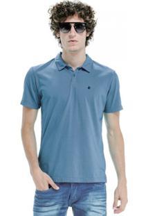 Camisa Polo Von Der Volke Basis Light Azul