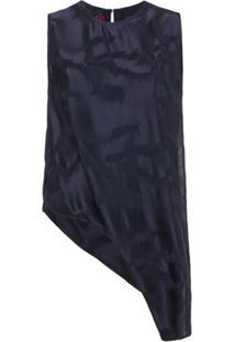 Sies Marjan Blusa Estampada - Azul