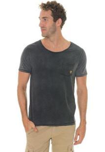 Camiseta Timberland Tank Double Face Washed Masculina - Masculino-Cinza