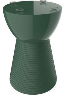 Base Para Mesa Lateral Redonda Sili Verde Alecrim
