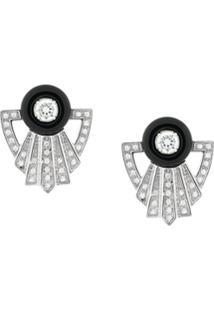 V Jewellery Par De Brincos 'Garance' - Metálico
