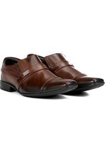 Sapato Social Couro Mariner Asturias - Masculino-Marrom