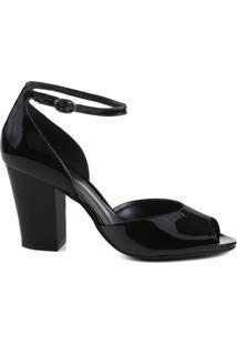 Sandália Concept Verniz Black | Schutz