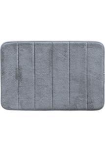 Tapete De Banheiro Super Soft Ii (60X40) Cinza