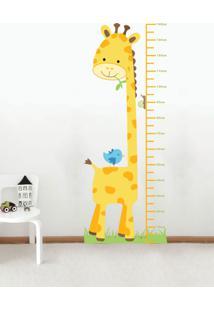 Adesivo Decorativo Stixx Amiga Girafa Amarelo - Amarelo - Dafiti