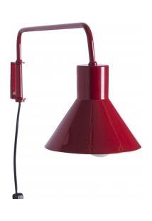 Arandela Articulada Funchal - Vermelha