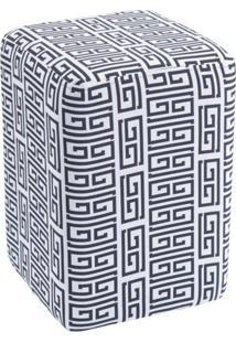 Puff Gran Belo Kairóz Retangular C01 Estampado