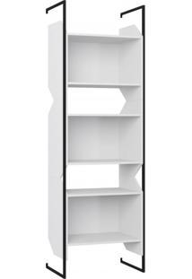 Estante Suspensa Multiuso Soul Moderno Be Mobiliário Branco