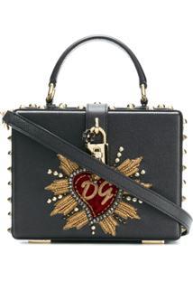 Dolce & Gabbana Bolsa Transversal 'Dolce Box' - Preto