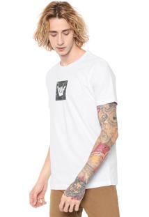Camiseta Hang Loose Camou Branca