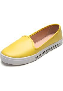 Alpargata Moleca Color Amarela